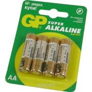 Фото GP Batteries AA bat Alkaline 4шт Super (15A)