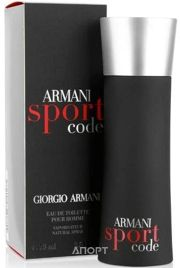 Фото Giorgio Armani Code Sport EDT