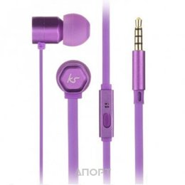 KitSound Hive In-Ear Headphones Purple (KSHIVBPU)