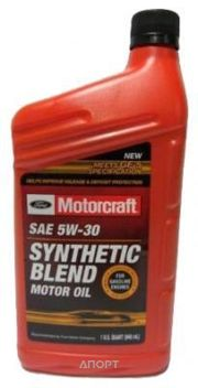 Фото Ford Synthetic Blend Motor Oil 5w-30 1л
