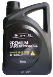 Фото Hyundai Premium Gasoline 5W-20 4л (05100-00421)
