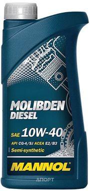 Фото Mannol Molibden Diesel 10W-40 1л