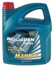 Фото Mannol Molibden Diesel 10W-40 5л