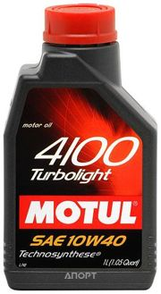 Фото Motul 4100 Turbolight 10W-40 1л