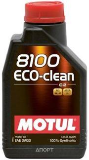 Фото Motul 8100 Eco-clean 0W-30 1л