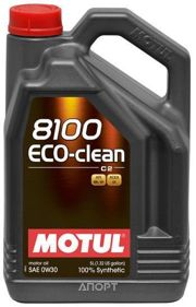 Фото Motul 8100 Eco-clean 0W-30 5л
