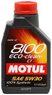 Фото Motul 8100 Eco-clean+ 5W-30 1л