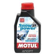 Фото Motul SNOWPOWER 2T 1л