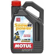 Фото Motul SNOWPOWER 4T 0W-40 4л