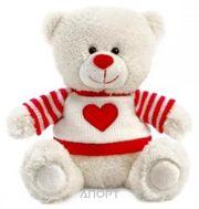 Фото Lava Медвежонок Сэмми в свитере с сердечком (LA8733D)