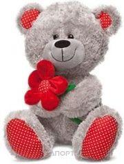 Фото Lava Медведь с красным цветком (1096)