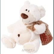 Фото Plush Apple Медведь с сердцем в мешочке K93215B1