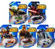 Фото Mattel Машинки-герои серии Star Wars (CGW35)