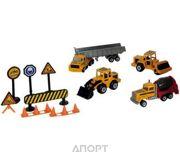 Фото MAJORETTE Строительная техника и дорожные знаки (205797)