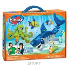 Bloco Wildlife Marine Creatures 30241