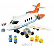 Фото Ecoiffier Abrick Themed sets 3045 Реактивный самолет с людьми и грузом