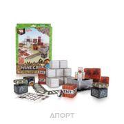 Фото Jazwares Minecraft 16713 Papercraft Minecart Set
