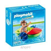 Фото PLAYMOBIL Девочка в смешной лодке (6675)