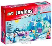 Фото LEGO Juniors 10736 Игровая площадка Эльзы и Анны