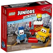 Фото LEGO Juniors 10732 Пит-стоп Гвидо и Луиджи