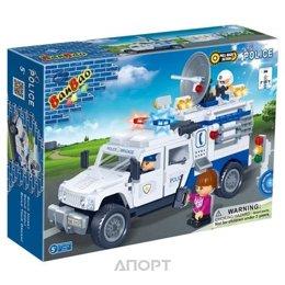 BanBao Полиция 8343 Полицейский грузовик