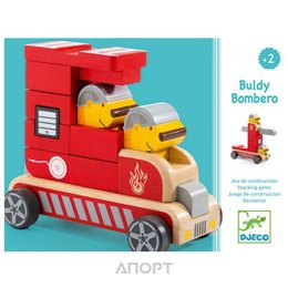 Djeco 06411 Пожарная машина
