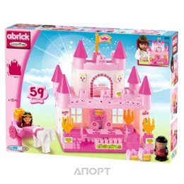 Ecoiffier Abrick Themed sets 3078 Замок принцесы