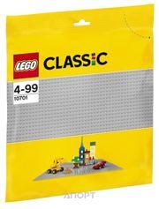Фото LEGO Classic 10701 Строительная пластина серого цвета