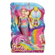 Фото Mattel Barbie Русалочка Яркие огоньки (DHC40)