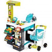 Фото SMOBY Интерактивный супермаркет с тележкой (350206)