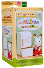 Фото Sylvanian Families Холодильник с продуктами (3566)