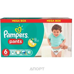 Pampers Pants Extra Large 6 (88 шт.)