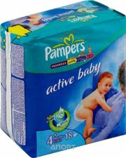 Фото Pampers Active Baby Maxi Plus 4+ (18 шт.)