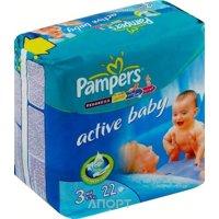Фото Pampers Active Baby Midi 3 (22 шт.)