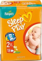 Фото Pampers Sleep&Play Mini 2 (18 шт.)