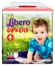 Фото Libero Up&Go 4 7-11 кг (18 шт.)