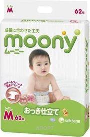 Фото Moony M 6-11 кг (62 шт.)