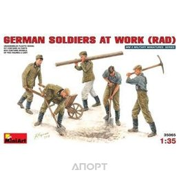 MiniArt Немецкие солдаты за работой (MA35065)