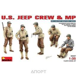 MiniArt Американский экипаж джипа и военная полиция - 1:35 (MA35047)