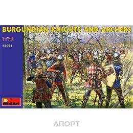MiniArt Бургундские рыцари и лучники VX век (MA72001)