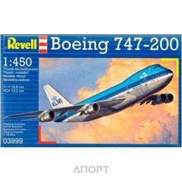 Revell Пассажирский самолёт Боинг 747-200 «Джамбо Джет». (RV03999)