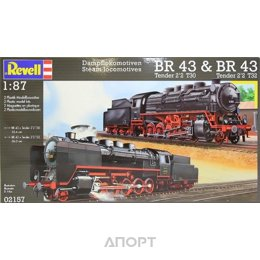 Revell Тепловоз BR 43 Steam Locomotives BR 43 (RV02157)