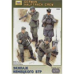 ZVEZDA German halftrack crew (ZVE3585)