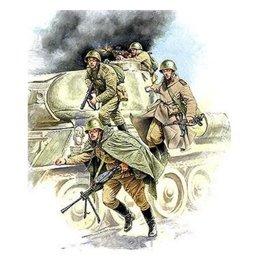 ZVEZDA Soviet Tank Infantry WWII (ZVE3544)