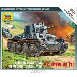 ZVEZDA Масштабная модель немецкого танка Pz.Kpfw.38(t) (ZVE6130)