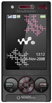 Фото Sony Ericsson W715i