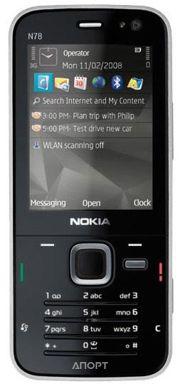 Фото Nokia N78