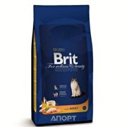 Фото Brit Premium Cat Adult Chicken 1,5 кг