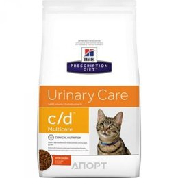 Hill's Prescription Diet Feline c/d Multicare курица 10 кг