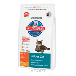 Hill's Science Plan Feline Adult Indoor Cat курица 4 кг